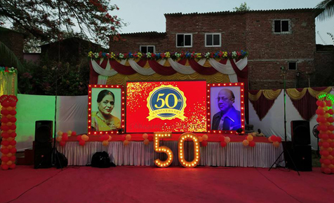 50th Anniversary Stage